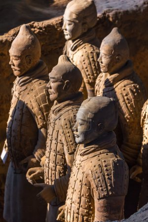 "The Terracotta Army or the ""Terra Cotta Warriors and Horses"""