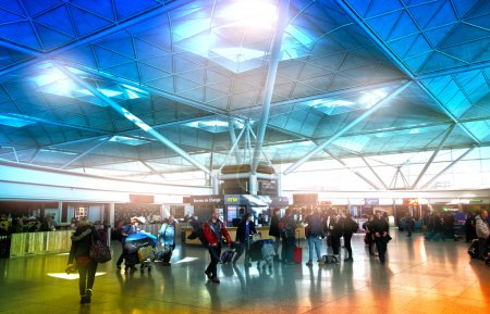 STANSTED AIRPORT-23 FEBRUARY 2014