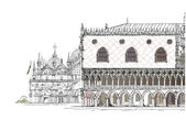 Venice illustration Sketch collection