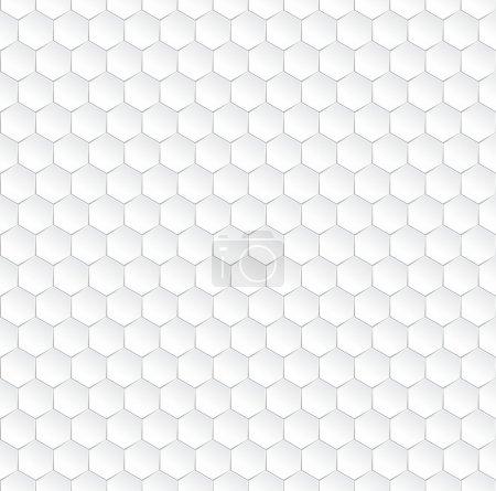 Hexagonal vector background