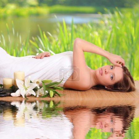 spa woman beauty portrait