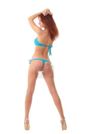 Beautiful sexy bikini girl