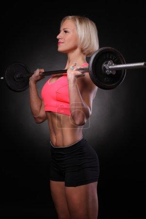 Brutal athletic woman