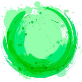 Vector green background Abstract design element Splashes of pa