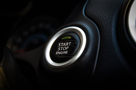 Engines Start stop button