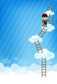 Cloud and blue background New 007