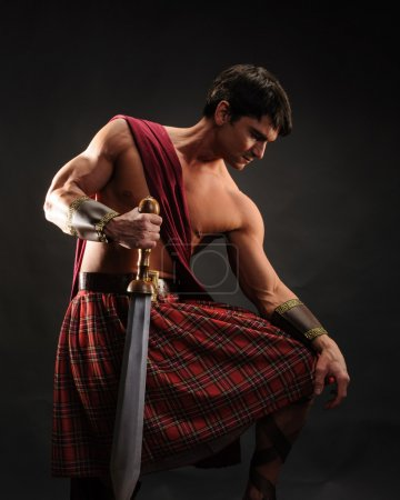Scottish warrior...