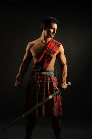 Handsome warrior