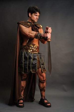 Photo for Roman warrior - Royalty Free Image