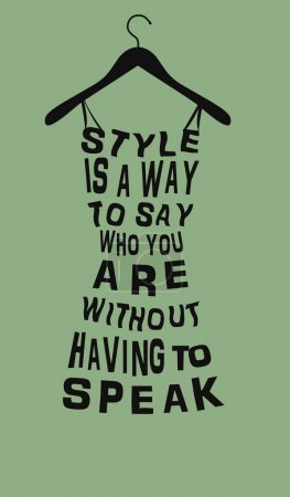 Illustration pour Mode femme robe de mots. - image libre de droit