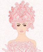 Fantasy baroque princess