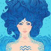 Aquarius astrological sign