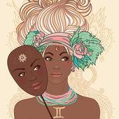 Zodiac beautiful girls set