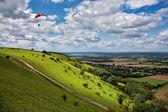 Paragliding na Ďáblova dyke