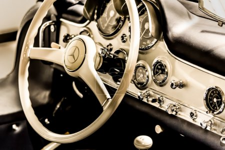 Old Mercedes dashboard
