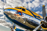 DC3 piloted by Ake Jansson