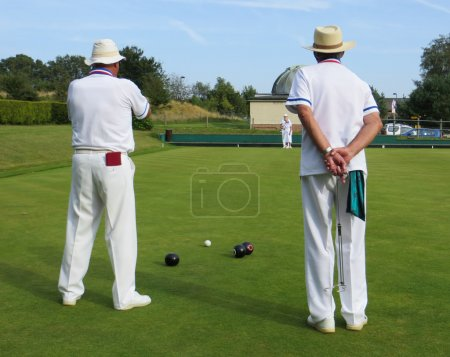 Photo for Lawn bowls - Royalty Free Image