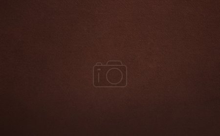 Photo for Brown leather background or texture - Royalty Free Image