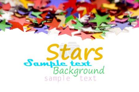 farbige Sterne Hintergrund für Ihren Text auf Foto, und andere.