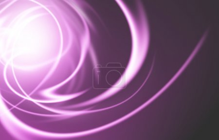 abstract background with blurred neon light rays