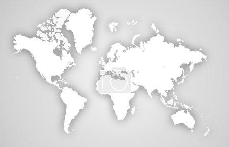 Photo pour Carte du monde des affaires - image libre de droit