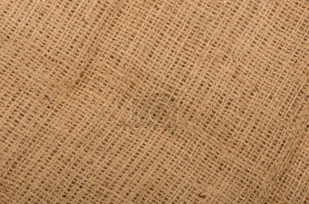 High quality burlap or sacking or sackcloth texture