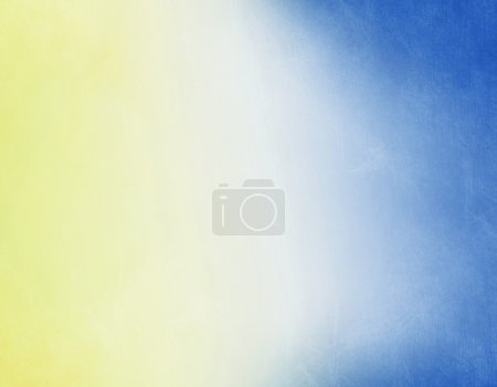 Photo for Grunge background in blue and beige color - Royalty Free Image