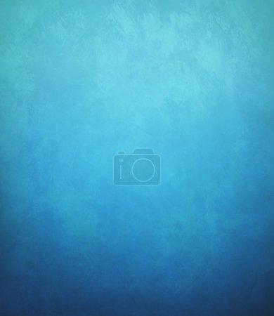 Photo pour Fond bleu bordure noire, couleur bleu froid couverture de livre vintage fond grunge texture - image libre de droit