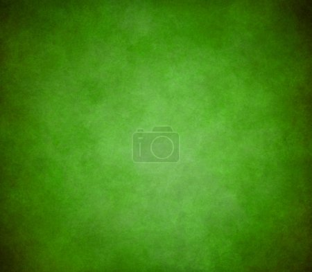 Photo for Bright green background with old black and light shading border design - Royalty Free Image