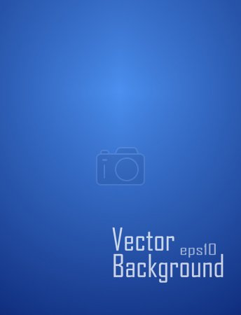 Illustration for Blue background - Royalty Free Image