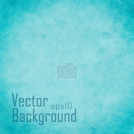 Illustration for Grunge retro vintage paper texture, vector background - Royalty Free Image