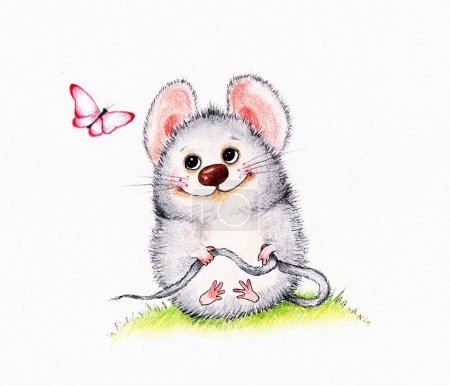 Mouse and butterfly...