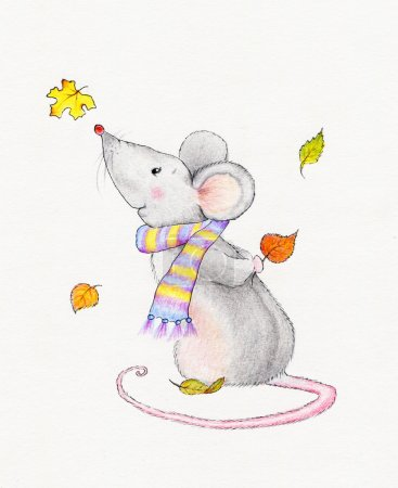 Cute mouse...