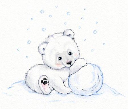 Photo for Cute polar bear - Royalty Free Image