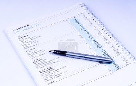 Group balance sheet