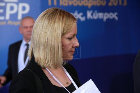 Minister of State of Ireland Lucinda Creighton
