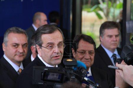 Prime Minister of Greece Antonis Samaras