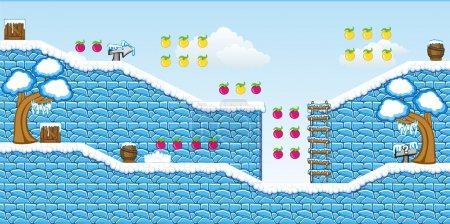 2D Tileset Platform Game 14