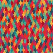 Colorfull diamond tiles seamless vector pattern