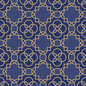 Pattern with a geometrical ornament