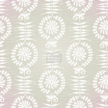 Vintage seamless background with floral ornament