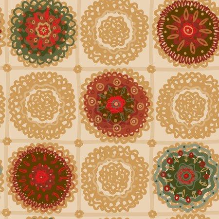 Ornamental circle pattern