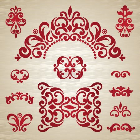 Ornament in Victorian style