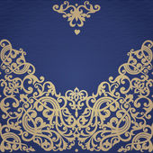 Vector seamless border in Victorian style Element for design Place for your text It can be used for decorating of wedding invitations greeting cards decoration for bags and clothes