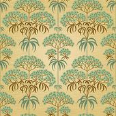 Traditional floral pattern in retro style Ornamental wallpaper Background in Victorian style It can be used for wallpaper pattern fills web page background surface textures classic fabric