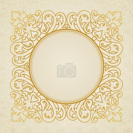 Lace frame in east style