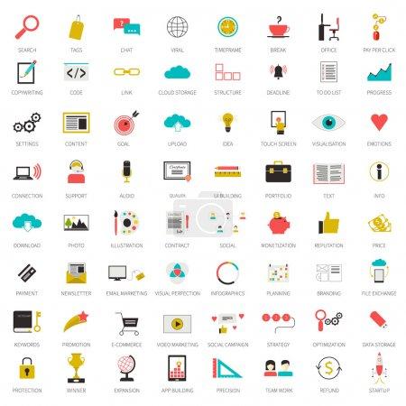 SEO icons big set