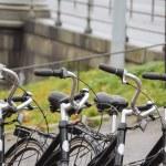 Постер, плакат: Parked Bikes