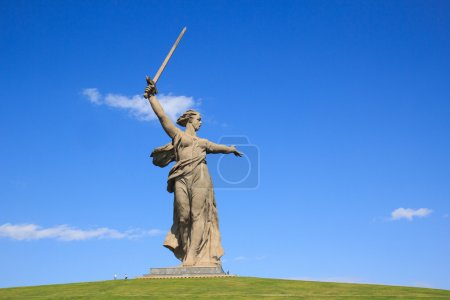 Wolgograd Denkmal Vaterland ruft, Russland