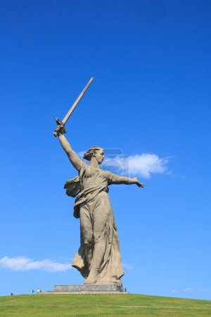 "World War II memorial ""Motherland Calls"", Volgograd, Russia"